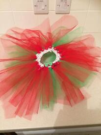 Christmas tutus and bows