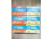 Fybogel Orange and Lemon. 6 boxes.