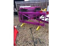 23 barriers for sale some may have some wear and tear.