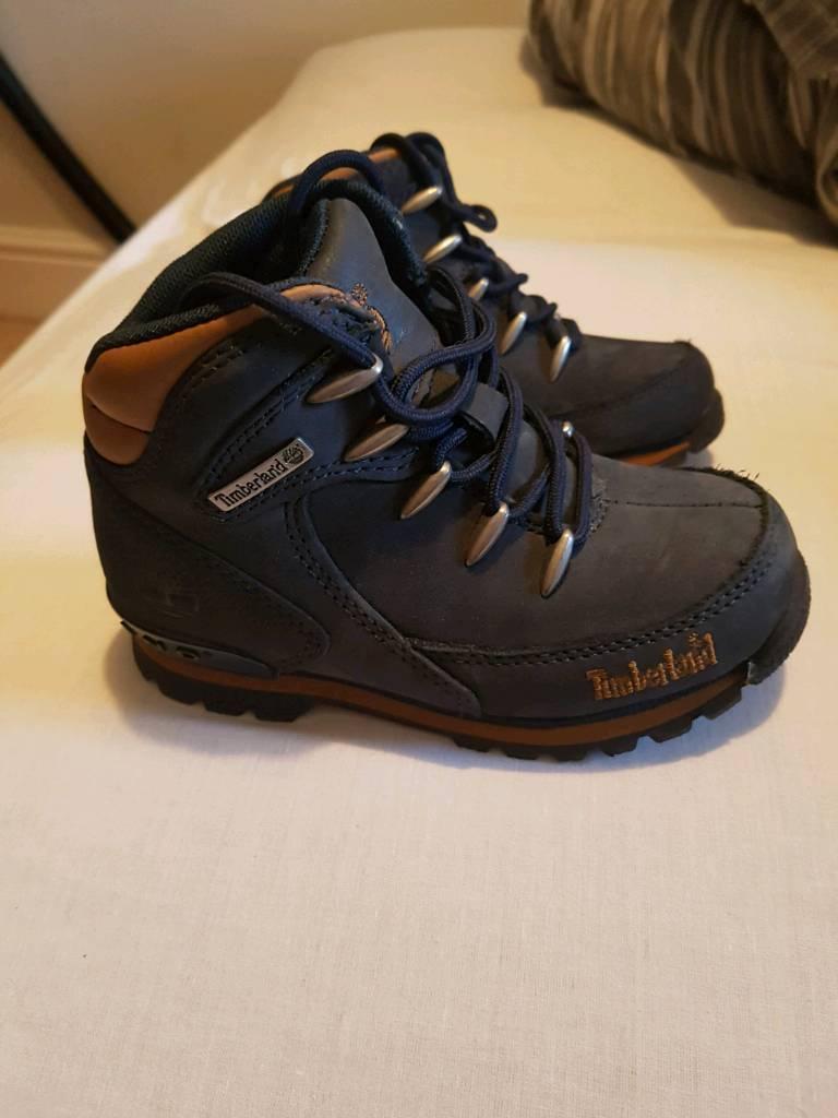 Boys size 10 Timberland boots