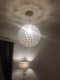 NEXT ceiling lights x2 for sale