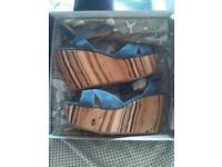 MISS SIXTY WEDGE SANDALS