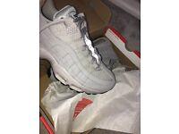 Women's Grey Nike Air Max 95 OG unworn size UK 4