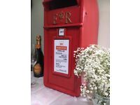 POST BOX FOR HIRE.£30. Coventry,Kenilworth,Warwick,Leam'ton,Warwickshire and other surrounding areas