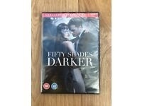 Brand new sealed Fifty Shades Darker DVD (2017) Unmasked Extended Edition