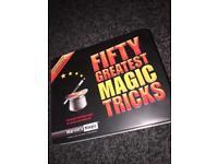 Fifty greatest magic tricks box