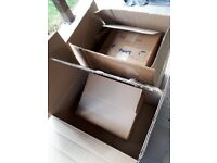 FREE PACKING BOXES AND SOME BUBBLEWRAP ETC