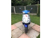 Sym jet 50 euro x 50cc scooter/moped