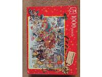 1000 piece Christmas jigsaw puzzle