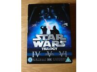 DVD Box Set Star Wars Triology Deluxe Box Set Episodes IV, V & VI As New Condition