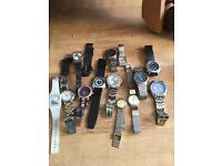 Selection of quartz watches