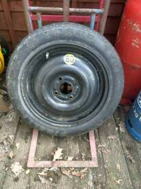 Space saver tyre for Ford Focus