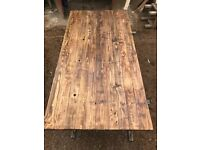 Reclaimed Wood Dining Table top 1.6m x 80cm