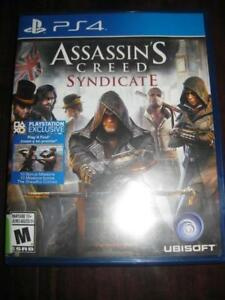 Assassin's Creed Syndicate For PS4 Game System. Use Skill to Conquer the Street. Weapon. Can Sword. Vehicle. Carriages
