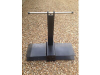 TV Stand with Metal and Glass - Ferndown - Bought at John Lewis - repair