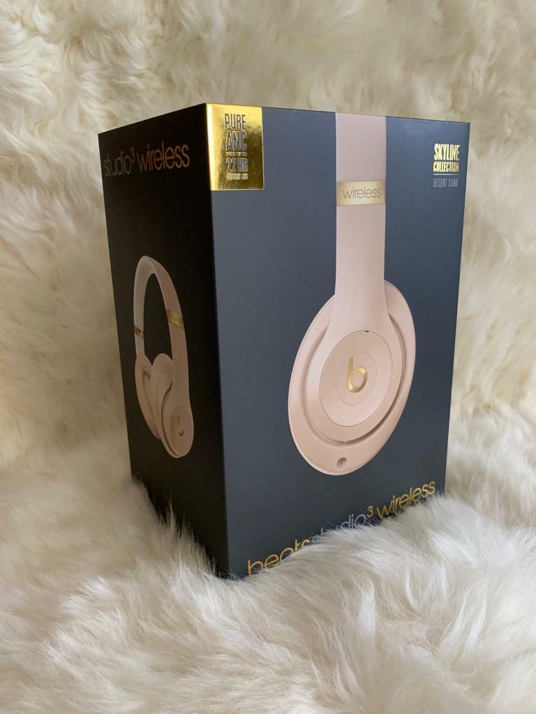 Beats Studio³ Wireless Bluetooth Headphone w/ Noise Cancellation - Desert  Sand | in Littlehampton, West Sussex | Gumtree