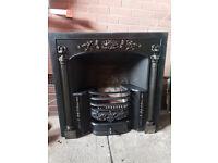 Stovax Regency insert, open fire, cast iron