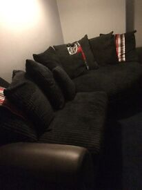 Corner sofa/snuggle chair & 3 seater sofa