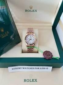 Rolex DateJust 31mm Rose Gold