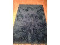Teal Blue rug