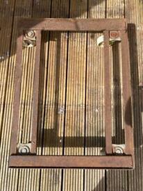 Vintage Industrial Metal dolly trolley