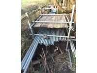 Galvanised Steel Scaffolding