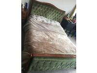 Emerald Green French Bed