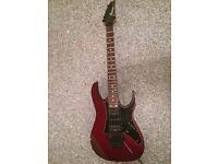 Ibanez RG 570 (1997), Red with Black Pickguard