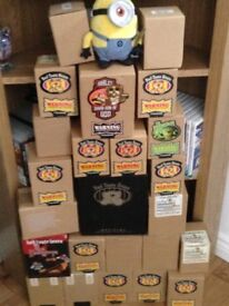 Joblot of bad taste bears in boxes