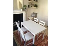 SOLD- IKEA JOKKMOKK Table and 4 Chairs