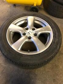 "16"" Honda Civic alloy"