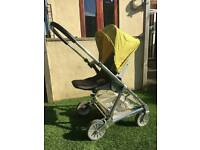 Mamas and papas urbo lime green pushchair