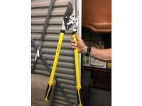 Good condition Faithfull Bypass Lopper Ratchet Action Cutters