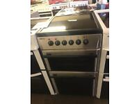 £130 BEKO STAINLESS STEEL 50 CM WIDE ELECTRIC COOKER - PLANET 🌎 APPLIANCE
