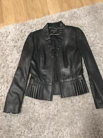 Episode Ladies Leather Jacket Size 8