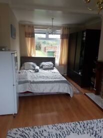 very large furnished double room for rent