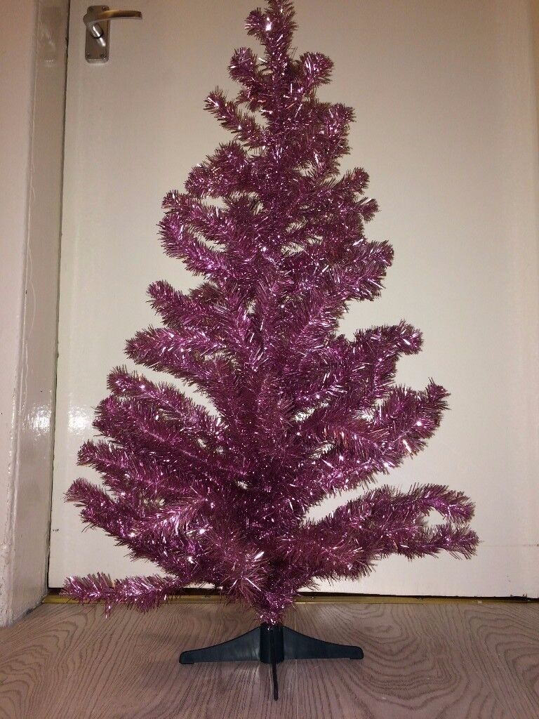 House Clearance Pink Posh Shining Stylish Glam Christmas Tree Dense Elegant Fashionable New Stand In Southside Glasgow Gumtree