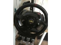 thrustmaster t500rs and pedals with brake mod