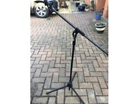 microphone stand, new, boxed and unused