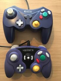 2 Nintendo Gamecube Controllers - Also work on the Wii and Wii U