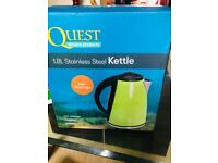 Lime green brand new kettle - collection only