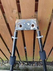 bike carrier flange type tow bar mounted £15
