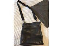 Ted Baker Leather Messenger Bag