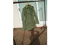 ex usa army combat jacket good condition small size