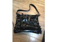 Black Ferromoda Leather handbag