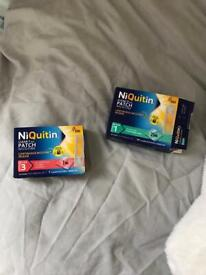 Niquitin stop smoking patches