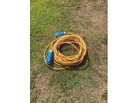 Caravan 2.5 ml electric hook up cable