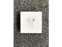 Apple AirPods Brand New and Sealed With Receipt