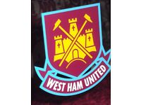 WEST HAM Wall Mirror & Piggy Bank - NEW/BOXED