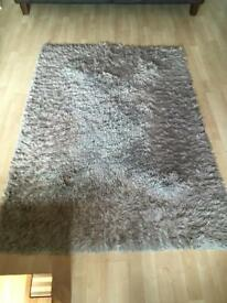 Next Home Rug Neutral Colour